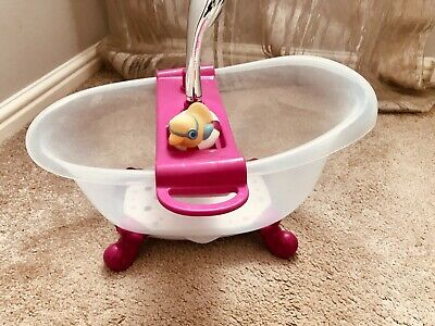 Baby Born Zapf Creation Interactive Bath Tub With Lights Exc Cond. Rrp £39.99