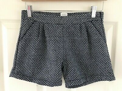 Carrement Beau Designer Girls Blue Tailored Wool Shorts Age 12 Years - Lined