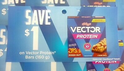 Save On Kellogg's Vector Protein Bar Products