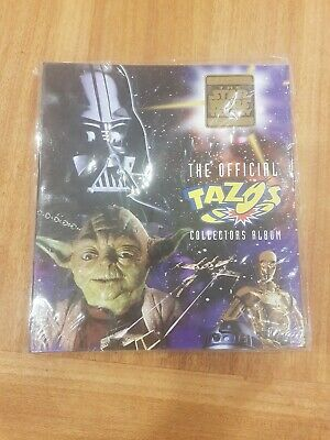 Mint Condition Never Opened Star Wars Tazo Folder