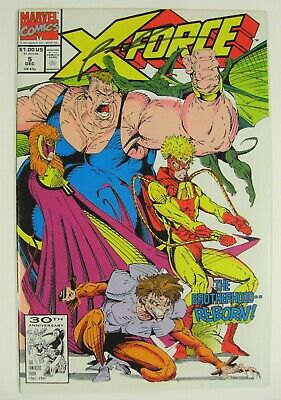 X-Force #5 VF Signed by Rob Liefeld Marvel Comics