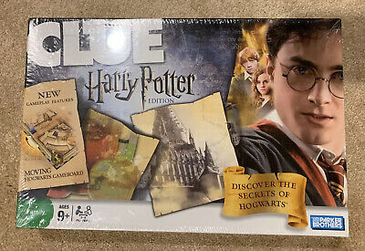 New Harry Potter Clue Game Parker Brothers Discover the Secrets of Hogwarts 2008