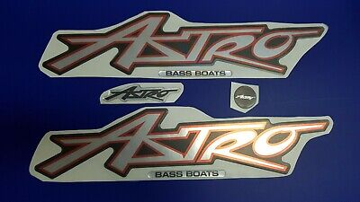 "Astro boat Emblem 22"" + FREE FAST delivery DHL express - raised decal"
