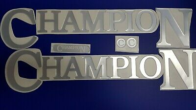 "Champion boat Emblem 35"" chrome + FREE FAST delivery DHL express - raised decal"