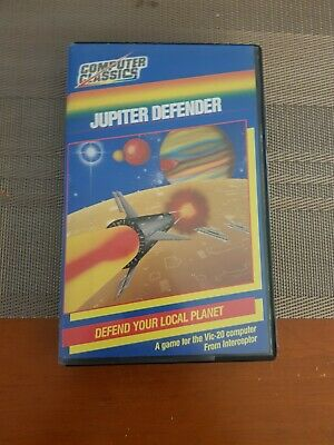 Commodore Vic 20 Game Jupiter Defender Boxed