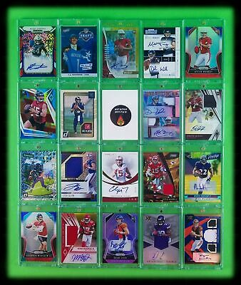 Hit Kings Hot Pack Holiday Edition Football Auto Mem Cards Ebays Best Grab Bags!