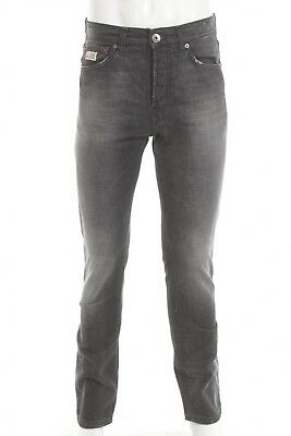 LUIS TRENKER - Edition - LUIS RED//BLACK - PANTS IN STONE WASHED DENIM 46 S