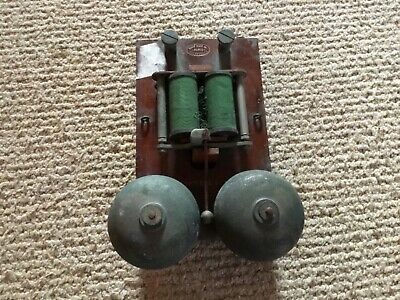 Vintage Old Industrial French Paris Telephones Fire ? Bell