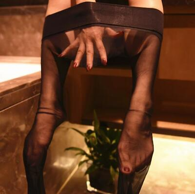 3D Silky Sexy Women Seamless ultra-thin Sheer 360° Stockings Tights Pantyhose