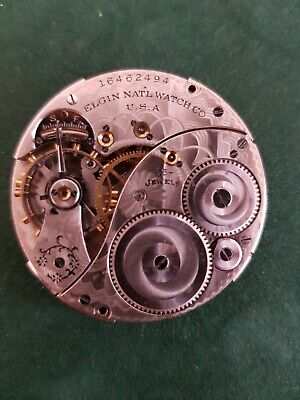 Antique 1912 Size 12s, 15Jewels  Hunting  Pocket Watch Movement Grade 314
