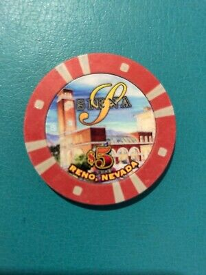 Sienna Reno Nevada Casino Chip Closed 2015 Issued 2001