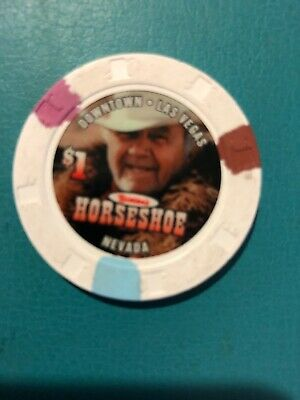 Binions Horseshoe Club Casino Chip Las Begas Issued 2004 Closed 2004