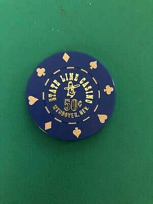 Stateline Casino Chip Issued 1980 Closed 2002 Wendover Nevada