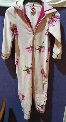 WORN Ted Baker 6/7 Year Old Hooded all in one -(213)