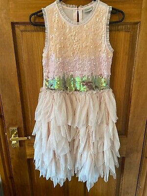 Stunning Girls Christmas/Party Dress Age 10 Years