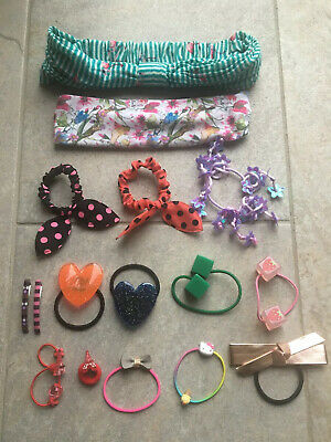 Selection Of Elasticated Hairbands Bobbles