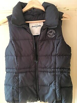 Designer Kids Abercrombie XL Slate Grey Gilet Excellent condition.