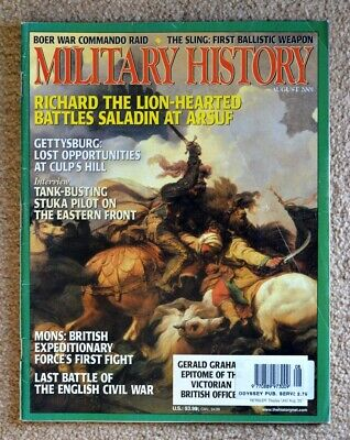 Military History Magazine. August 2001