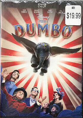 Dumbo Live Action DVD 2019 - Brand New - Free First Class Ship