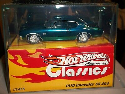 Hot Wheels 1/43 American Classics 1970 Chevelle Ss 454
