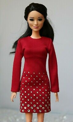 №145 Clothes for Barbie Doll. Dress for Dolls.