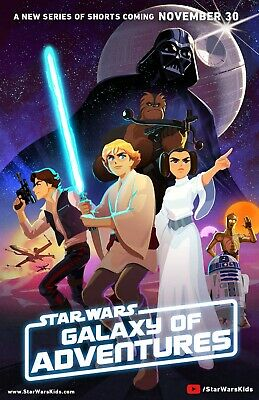 "Star Wars Galaxy Of Adventures 11""X17"" Poster Print"