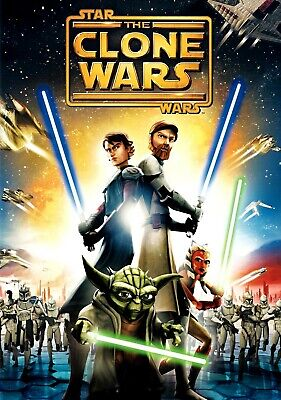 STAR WARS THE CLONE WARS 11x17 MOVIE POSTER PRINT #2