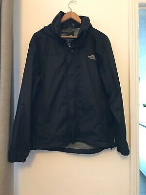 The North Face HyVent Rain Jacket Coat Size Medium Waterproof Windproof Outdoors