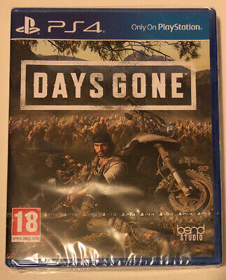 Days Gone (Sony PlayStation 4 PS4, 2019) Brand New Sealed Game