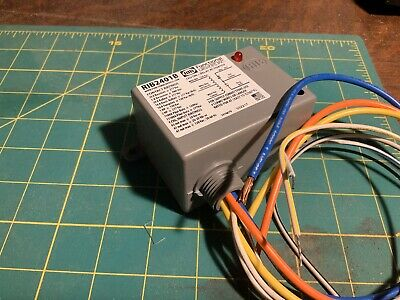 Functional Devices RIB2401B Enclosed Relay 20 Amp SPDT 24VAC// SC or 120VAC 2