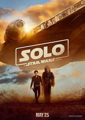 "STAR WARS SOLO 11""x17"" MOVIE POSTER PRINT #14"