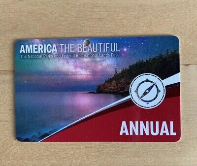 American National Parks Annual Pass September 2020 'America The Beautiful'