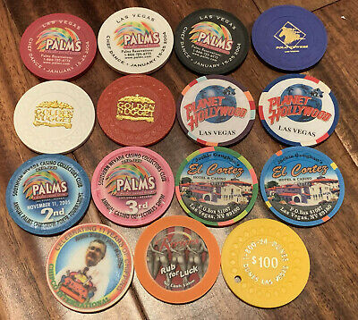 Lot of 15 Diff Nevada Casino Non Gaming Chips - Older Chips - Blowout Deal