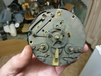 Antique French Clock Striking Movement-Spares-Repair (Vs)