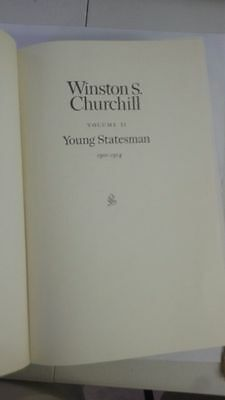 Winston S Churchill  Vol 2 Young Statesman 1901 - 1914 Hardcover – 1967