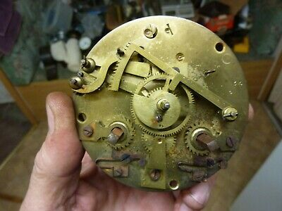 Antique French Clock Striking Movement-Spares-Repair (10)