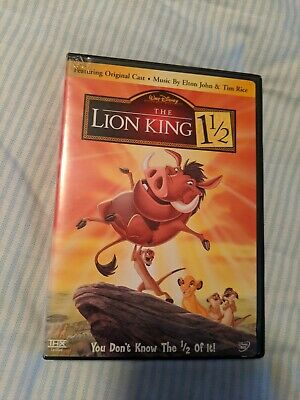 DIsney The Lion King 1 1/2 DVD 2004 2-Disc Set Collectible