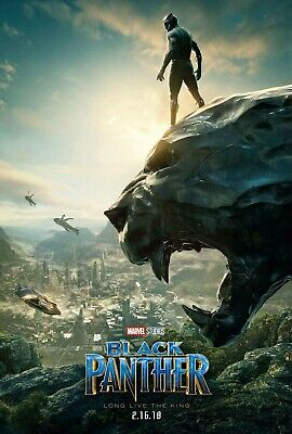 "BLACK PANTHER 11""x17"" MOVIE POSTER PRINT #2"