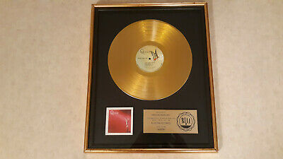 Queen Gold RIAA Record Award Presented to Freddie Mercury