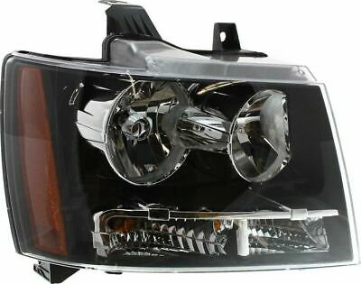 Headlight For 2007-2014 Chevrolet Tahoe 2007-2013 Avalanche Driver Side w/ bulb