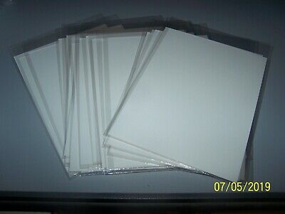 25 2 Mil Mylar Mylites Golden Age Comic Book Bags and Acid Free Backing Boards