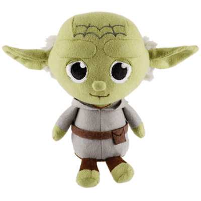 "Baby Yoda The Mandalorian Star Wars Funko Smuggler's Bounty Exclusive 7"" Plush"
