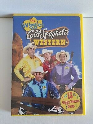 THE WIGGLES Cold Spaghetti Western DVD - PAL