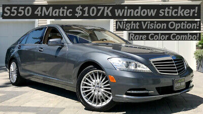 2010 Mercedes-Benz S-Class S550 4MATIC® 158 HIGH QUALITY PICTURES & HD WALK-AROUND VIDEO TOUR!
