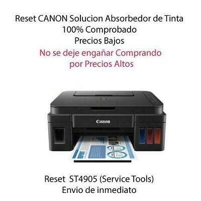UNLIMITED LICENCE STV4905 Reset Canon G1100,G2100,G4100