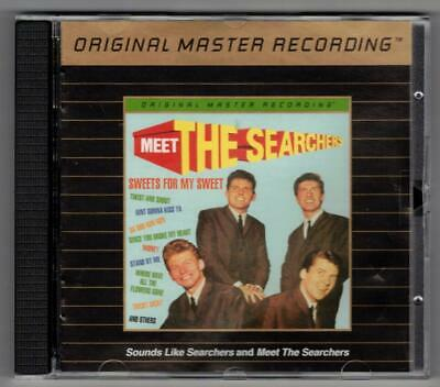 THE SEARCHERS:Meet & Sounds Like-MOBILE FIDELITY 24kt GOLD-2on1-MFSL-RARE/OOP!