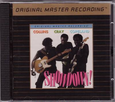 ALBERT COLLINS+ROBERT CRAY+JOHNNY COPELAND-Showdown!-MFSL UDCD 24kt GOLD-OOP!