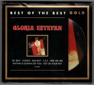 GLORIA ESTEFAN:Greatest Hits-Best Of The Best-24kt GOLD-Sony Germany-LIM ED-OOP!