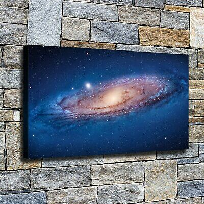 "12""x22""Spinning galaxy HD canvas home decor wall art paintings Pictures Posters"