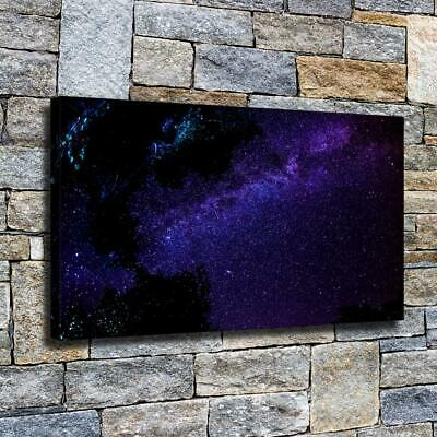 """12""""x22""""Sky purple galaxy HD canvas home decor wall art paintings Pictures Poster"""